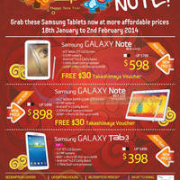 Read more about Samsung Galaxy Tablets No Contract Reduced Offers 18 Jan 2014