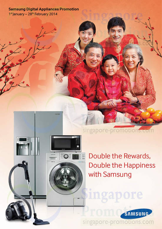 Samsung Digital Appliances Promotion