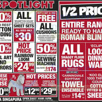 Read more about Spotlight Up To 50% OFF SALE @ Plaza Singapura 25 Jan - 2 Feb 2014