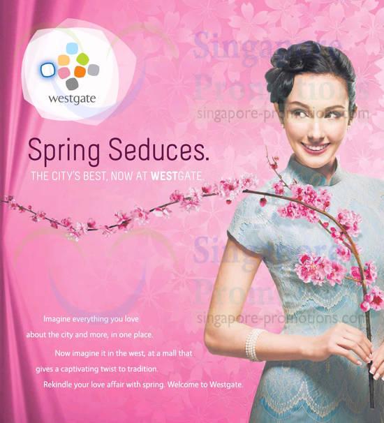 Spring Seduces