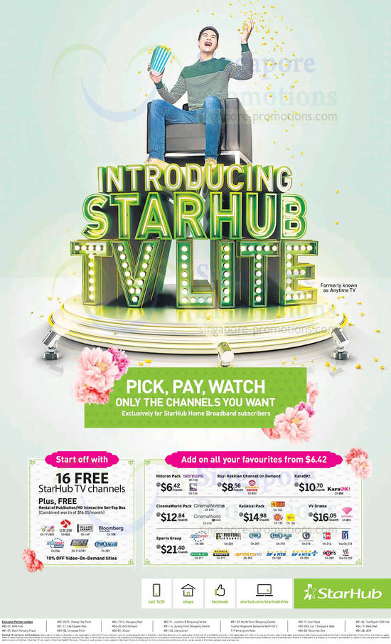 Starhub Cable TV Lite