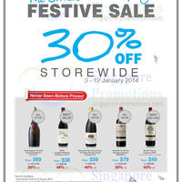 Read more about Straits Wine Company 30% OFF Storewide Promo 3 - 19 Jan 2014
