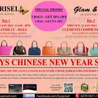 Read more about Surprisel Branded Handbags Sale Up To 75% Off 11 - 12 Jan 2014