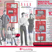 Read more about Takashimaya The SALE Brands Offers & Promotions 10 Jan - 23 Feb 2014
