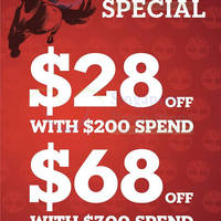 Read more about Timberland $28 OFF With $200 Spend Promo 3 - 30 Jan 2014