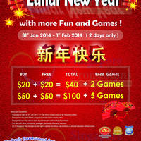 Read more about Timezone 100% Extra Double Dollar & FREE Games Promo 31 Jan - 1 Feb 2014
