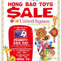 "Read more about Toys ""R"" Us Up To 60% OFF Hong Bao Toys SALE @ United Square 3 - 5 Feb 2014"