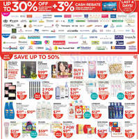 Read more about Watsons Personal Care, Health, Cosmetics & Beauty Offers 9 - 15 Jan 2014