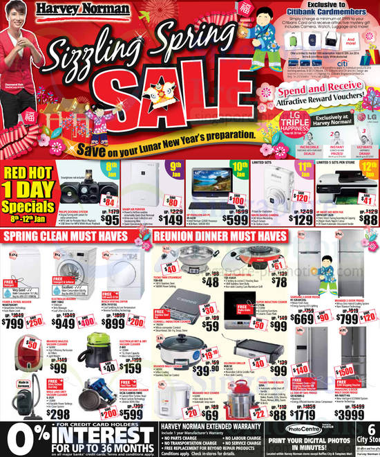 HP 20-A230 AIO Desktop PC, HP 2620 Printer, Samsung RT-32FARCDSL Fridge, Tecno TSB-458GR Steamboat BBQ, Delonghi BGR-50 Griller, Takahi 509A Boiler, LG GR-B208BLQ Fridge, Panasonic NR-F605TT-K6 Fridge, Tecno TSB-428 Steamboat, Electrolux EWF-10842 Washer, Bosch WTA-74101SG Dryer, Electrolux Z-803 Vacuum Cleaner, Dyson DC26 Vacuum Cleaner, Miele S-2121 Vacuum Cleaner and Fisher&Paykel WA85T60GW1 Washer