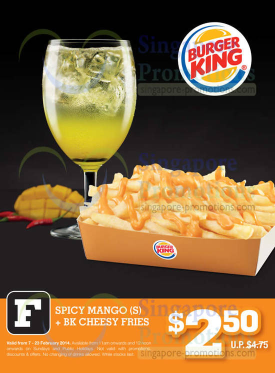 the Burger King international chain of fast food restaurants, featuring menu items for breakfast, lunch and dinner, nutritional information guides, kids meals, BK store locator, and information on the company, franchise opportunities, and careers.
