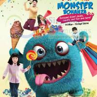 Read more about AMK Hub Monster Bonanza Holiday Fun 14 Mar - 13 Apr 2014