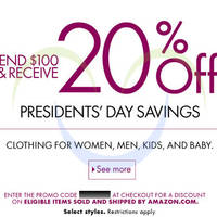 Read more about Amazon.com $20 OFF Clothing Coupon Code 14 - 21 Feb 2014