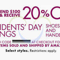 Read more about Amazon.com 20% OFF Handbags & Shoes Coupon Code 15 - 21 Feb 2014