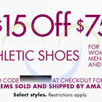 Read more about Amazon.com $15 OFF Athletic Shoes Coupon Code 25 Feb - 11 Mar 2014