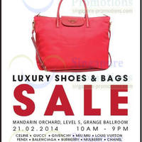 Read more about Brandsfever Handbags & Footwear Sale Up To 95% Off @ Mandarin Orchard 21 Feb 2014