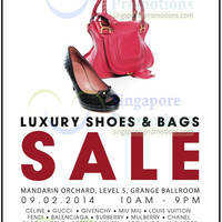 Read more about Brandsfever Handbags & Footwear Sale Up To 95% Off @ Mandarin Orchard 9 Feb 2014