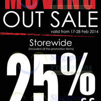 Read more about Choco Express 25% OFF Storewide Moving Out Sale @ Century Square 17 - 28 Feb 2014