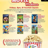 Read more about City Square Mall FREE Movie Screenings Schedule 17 Feb 2014