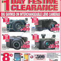 Read more about Courts 1 Day Digital Cameras Festive Clearance Offers 7 Feb 2014