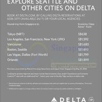 Read more about Delta Air Lines Promotion Air Fares 25 Feb - 5 Mar 2014