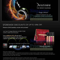 Read more about Destinee FREE $100 Voucher With $500 Spend & More Promos 4 Feb - 2 Mar 2014