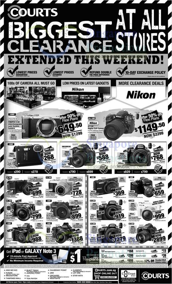 Digital Cameras DSLR Nikon Fujifilm Canon Samsung  : Digital Cameras DSLR Nikon Fujifilm Canon Samsung Olympus Sony 550x908 from singapore-promotions.com size 550 x 908 jpeg 143kB