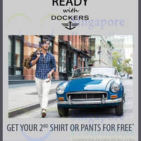 Read more about Dockers Buy 1 Get 1 FREE Promo 14 Feb 2014