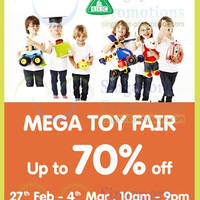 Read more about Early Learning Centre Mega Toy Fair @ United Square 27 Feb - 4 Mar 2014
