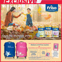 Read more about Friso Milk Powders FREE $10 Voucher With $100 Spend @ NTUC Fairprice 21 Feb - 31 Mar 2014