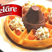Read more about Gelare 33% OFF Waffle & Single Scoop of Ice-Cream @ 5 Locations 10 Feb 2014