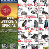 Read more about Golf Direct Weekend 3 Day Offers 21 - 23 Feb 2014