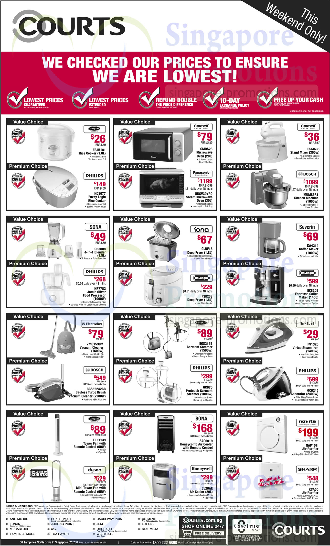 Uncategorized Kitchen Appliances Price home kitchen appliances philips sona electrolux dyson iona tefal novita sharp