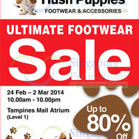 Read more about Hush Puppies SALE @ Tampines Mall 24 Feb - 2 Mar 2014