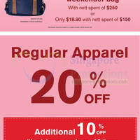 Read more about Hush Puppies Apparel 20% OFF Storewide 26 Dec 2013 - 9 Feb 2014