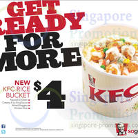 Read more about KFC NEW $4 Rice Bucket (Dine-In & Takeaway) 10 Feb 2014