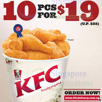 Read more about KFC Delivery $19 10pcs Chicken Promo Offer 10 Feb 2014
