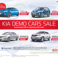 Read more about KIA Demo Cars SALE 8 Feb 2014