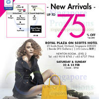 Read more about LovethatBag Branded Handbags Sale Up To 75% Off @ Royal Plaza on Scotts 22 - 23 Feb 2014