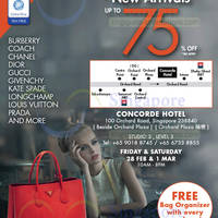 Read more about LovethatBag Branded Handbags Sale Up To 75% Off @ Concorde Hotel 28 Feb - 1 Mar 2014