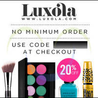 Read more about Luxola 20% OFF Storewide (NO Min Spend) Coupon Code 16 - 18 Mar 2015