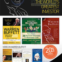 Read more about MPH Bookstores Warren Buffett Books Promotion @ Raffles City 1 - 28 Feb 2014