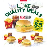 Read more about McDonald's NEW Nacho Cheese Filet-O-Fish & McChicken 'N' Cheese Burgers 6 Feb 2014