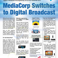 Read more about MediaCorp Digital TV Broadcast Info & Best Denki Digital TV Offers 17 Feb 2014