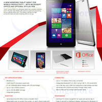 Read more about Lenovo Launches Refreshed ThinkPad X1 Carbon Ultrabook & Miix 2 Tablet 14 Feb 2014