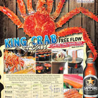 Read more about Momiji Japanese Buffet Restaurant FREE FLOW King Crab Legs 19 Feb 2014