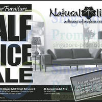 Read more about Natural Living 50% OFF Indoor Furniture Storewide SALE @ Park Mall 15 Feb 2014