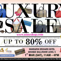 Read more about Nimeshop Branded Handbags Sale Up To 80% Off @ Mandarin Orchard 1 Mar 2014