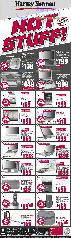 Omron Blood Pressure Monitor HEM-7211, HP 8600 Printer, Acer Liquid Z3, ASUS Memopad Me180, Micorsoft Surface Tab Pro, Samsung Galaxy Note 10.1 2014 Edition, Toshiba Notebook L40-AS134W, LENOVO Flex 14 Ultrabook, Acer S3-392G-54204G52T Notebook, ASUS S551LB-CJ101 Notebook, HP 400-237D Desktop PC, HP M210d Desktop PC, Brother MFC-9330CDW Printer and Canon MG-3570 Printer