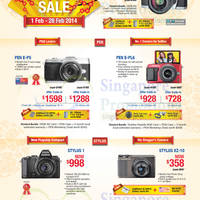 Read more about Olympus Digital Cameras Offers 1 - 28 Feb 2014