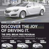 Read more about Opel Insignia 1.6L Turbo Features & Price 15 Feb 2014